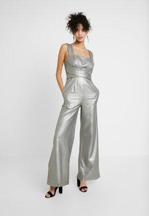 SAPPHO - Jumpsuit - gray metallic