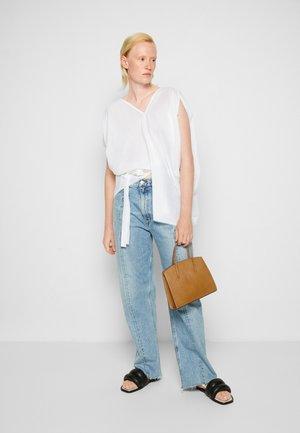 MINIMAL MINI TOTE - Handbag - light brown