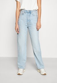 Weekday - ROWE - Straight leg jeans - fresh blue wash - 0
