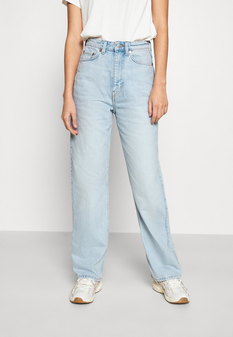Weekday - ROWE - Straight leg jeans - fresh blue wash