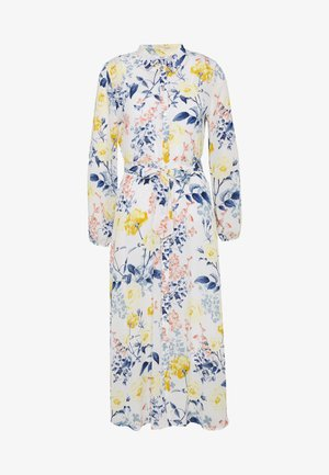 ONLLEXY  - Shirt dress - cloud dancer/coastal flowers