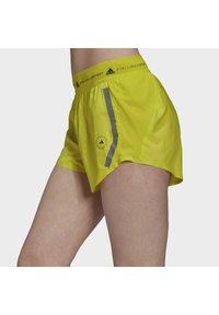 adidas by Stella McCartney - TRUEPACE - Sportovní kraťasy - acid yellow - 3