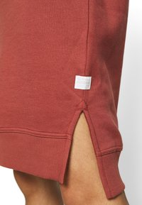 G-Star - GRAPHIC TEXT BF HOODED - Strikket kjole - cinnamon red - 6