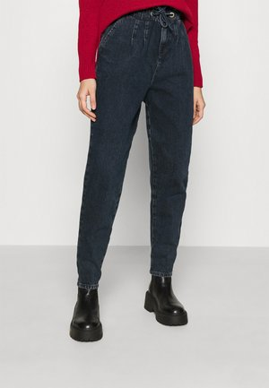 CLAPTON MOM - Jeansy Relaxed Fit - blue black