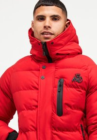 Kings Will Dream - BROMLEY PUFFER BOMBER JACKET - Viegla jaka - red - 4