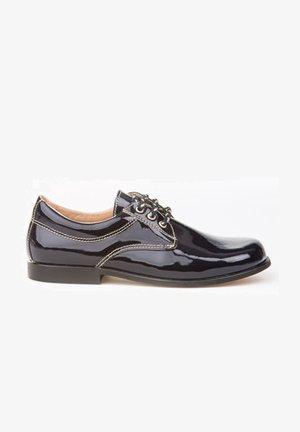 Zapatos de vestir - azul marino