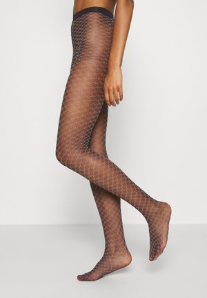 FALKE OLD-FASHIONED 15 DENIER STRUMPFHOSE TRANSPARENT FEIN - Tights - violetonyx