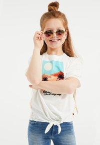 WE Fashion - Print T-shirt - white - 2