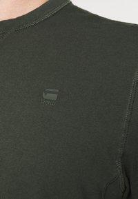G-Star - PREMIUM CORE R T S\S - T-shirt basic - olive - 4