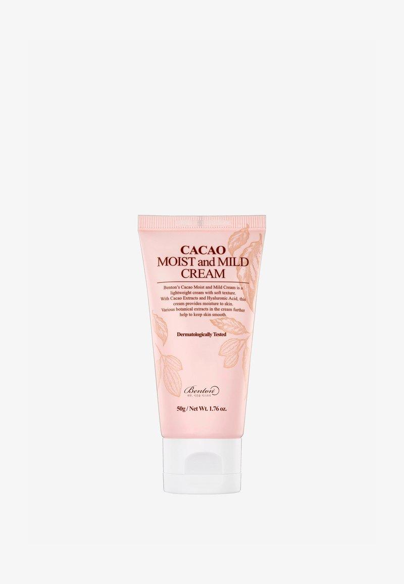 Benton - CACAO MOIST AND MILD CREAM  - Face cream - -