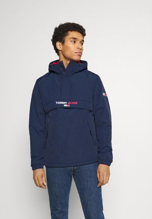 SOLID POPOVER JACKET UNISEX - Veste coupe-vent - twilight navy