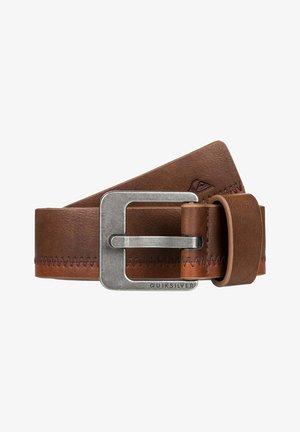 Belt - chocolate brown