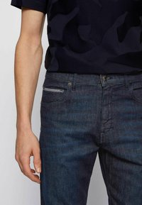 BOSS - ALBANY - Relaxed fit jeans - dark blue - 3