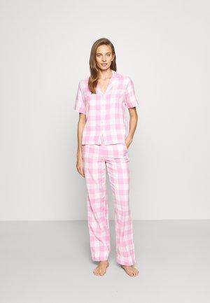 PCAMALIE NIGHT SET - Piżama - pink