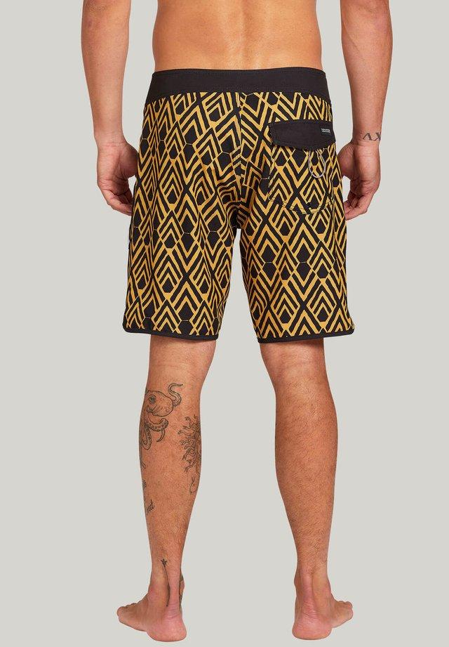 JAUNE - Swimming shorts - mineral_yellow