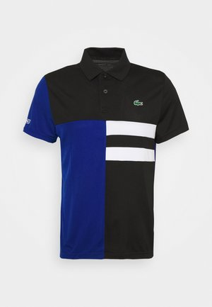 TENNIS - Sports shirt - black/cosmic/white