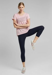 Esprit Sports - Print T-shirt - light pink - 1