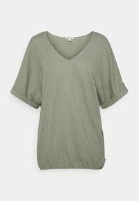 Esprit - TEE - Basic T-shirt - light khaki - 1