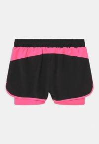 Ellesse - MAYLIA - Sports shorts - black/neon pink - 1