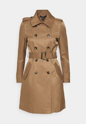COAT - Trenchcoat - sand