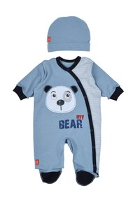 Leo - BABY SET BEAR 4 PACK - Kruippakje - grau/blau - 1