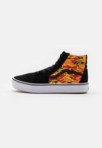 Vans - COMFYCUSH SK8 UNISEX - Zapatillas altas - black/true white - 0