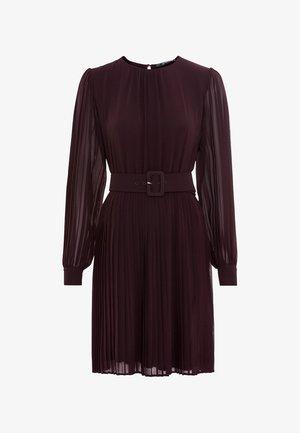 Day dress - burgundy