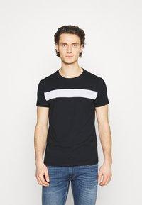 Replay - Print T-shirt - dark blue - 0