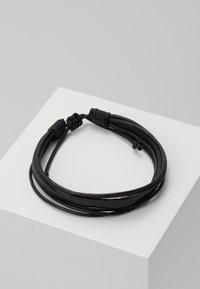 Icon Brand - CONTEXT BRACELET - Bracciale - black - 0