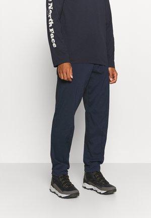 WADI PANTS - Tygbyxor - blue