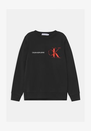 RAISED MONOGRAM - Sweatshirt - black