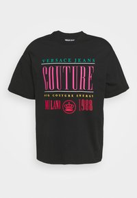 Versace Jeans Couture - Print T-shirt - nero - 7