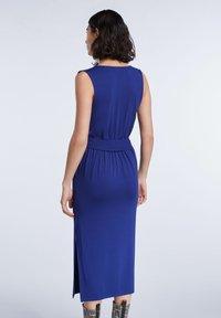SET - SET KLEID - Day dress - blue print - 2