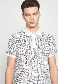 Just Cavalli - ANIMAL PRINT - Polo shirt - white - 5