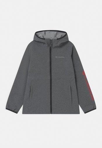 ROCKY RANGE UNISEX - Soft shell jacket - black heather