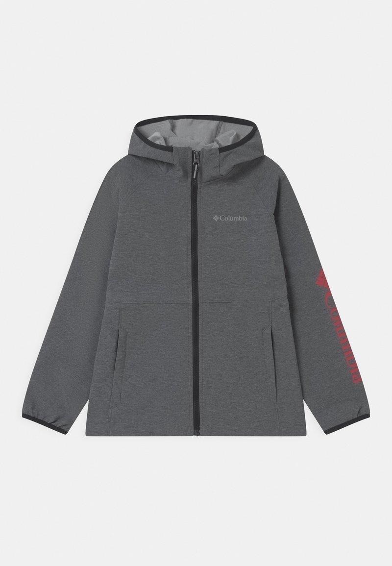 Columbia - ROCKY RANGE UNISEX - Soft shell jacket - black heather