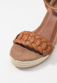 Anna Field - High heeled sandals - cognac - 2