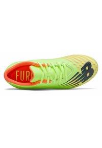 New Balance - FURON V6 - Moulded stud football boots - neon yellow - 1