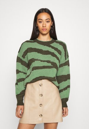 ONLWILD - Jumper - kalamata/hedge green