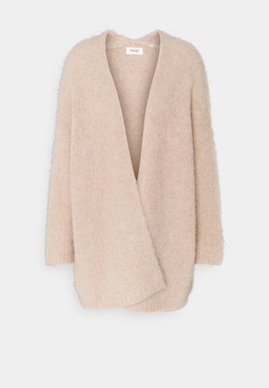 LONG SLEEVE - Cardigan - beige melange