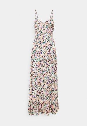 SOPHIE AQUAREL SMOCK MAXI DRESS - Day dress - multicolor