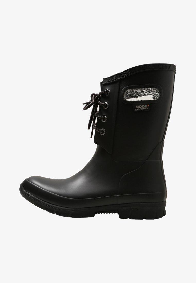 Bogs - AMANDA PLUSH - Regenlaarzen - black