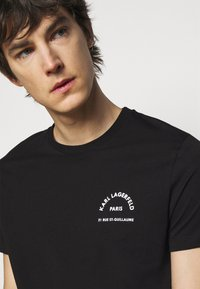 KARL LAGERFELD - CREWNECK - Print T-shirt - black - 5