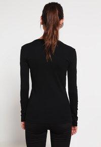 Petit Bateau - Long sleeved top - noir - 2
