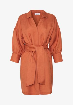 YOUKO DRESS - Shirt dress - cedar wood