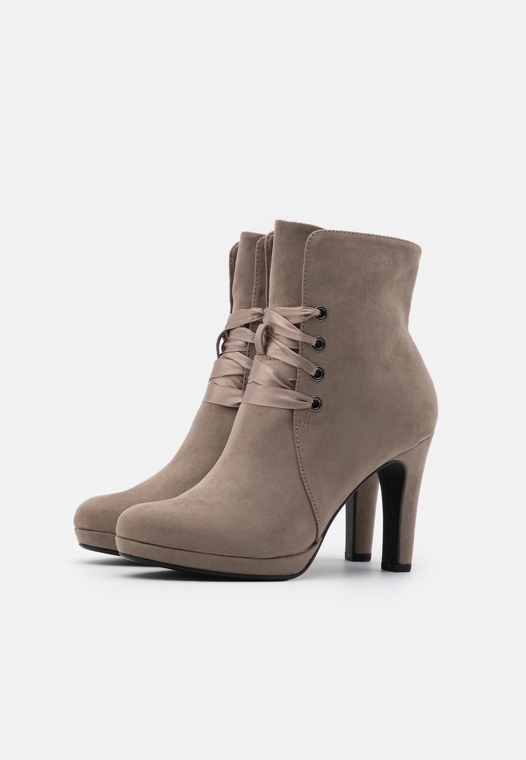 Tamaris High Heel Stiefelette pepper/taupe