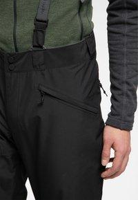 Haglöfs - LUMI FORM PANT - Snow pants - true black - 3