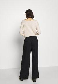 mbyM - YVETTE - Trousers - black - 2