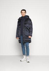 Champion Reverse Weave - JACKET - Winter coat - navy - 1