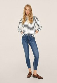 Mango - ISA - Jeans Skinny Fit - dark blue - 1